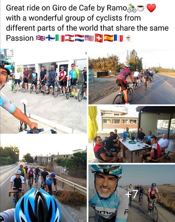 Great Gathering at Ramo Pro Cycling Cyprus with Ramo Coach
