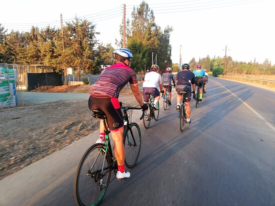 Great Gathering at Ramo Pro Cycling Cyprus with Ramo Coach ... Historical Tour