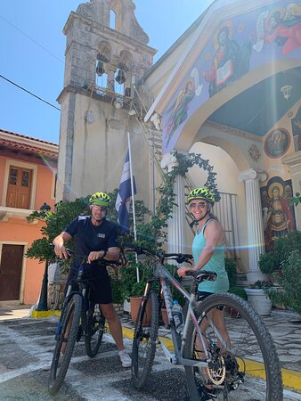 Great day mountain biking