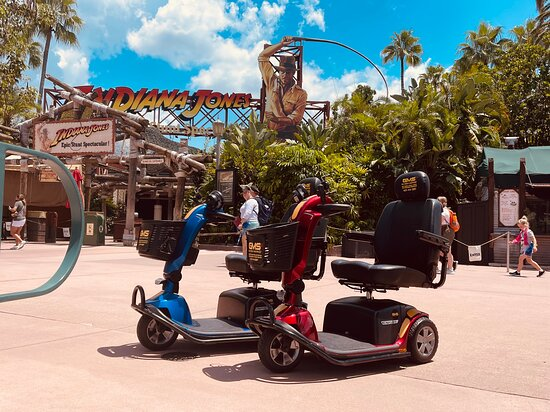 Gold Mobility Scooter Rentals at Walt Disney World Hollywood Studios. Best mobility scooter rental company for use at the the Walt Disney World Resorts and theme Parks. All rental Scooters come with a 100% satisfaction guarantee. Book your mobility scooter today at goldmobilityscooters.com