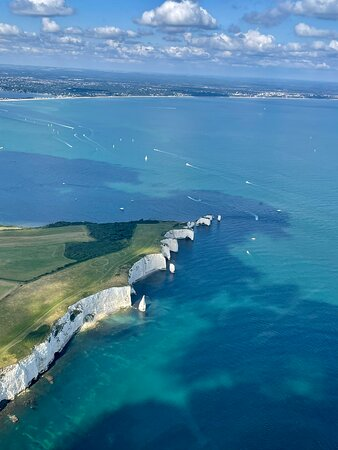 A fantastic experience, highly recommend ed! My 85 year old Mum loved the chance to see the area she has lived in all of her life from the air. Jim our pilot gave a running commentary and was very informative. We flew along the coastline to Corfe Castle, over Brownsea and her neighbouring islands, as far as Old Harry Rocks then back over Bournemouth and Boscombe Piers to Hengistbury Head and Christchurch. The scenery was spectacular and we loved every minute. If you get the chance, do it.
