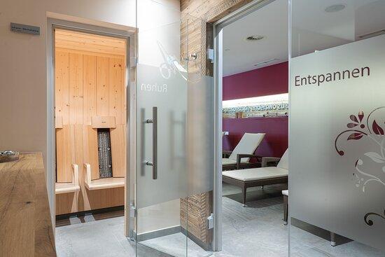 Entspannen im Wellnessbereich Hotel AlpenSchlössl in der Berg und SkiWelt Wilder Kaiser Brixental.