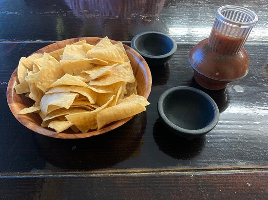 Chips and fresh salsa
