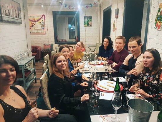 Индивидуальный мастер-класс сомелье для компании (корпоратив) Wine Project