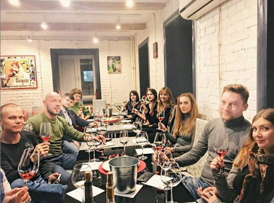 """Экспресс-курс сомелье """"Винный Критик"""" Wine Project"""