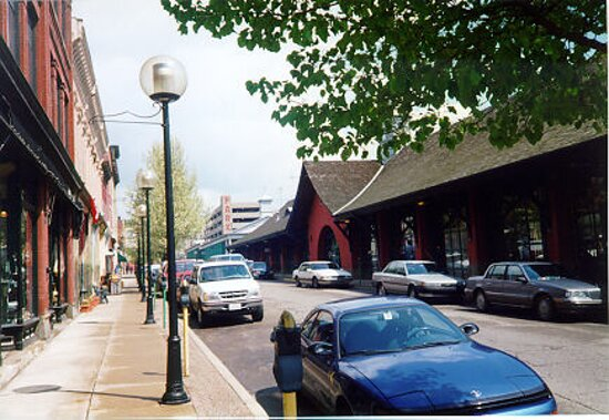 This walkable shopping district is a great way to spend a day.  Stick around for the live concerts & special events.