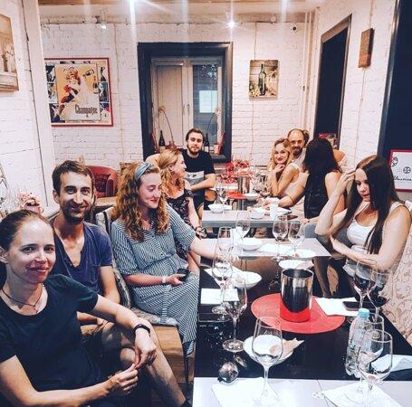 Вводный мастер-класс сомелье в Wine Project