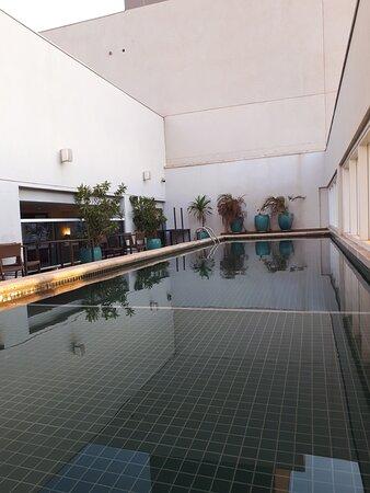 piscina na cobertura