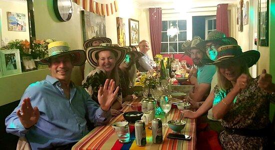 Wonderful dinner party!!