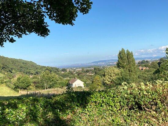 View towards Minehead.