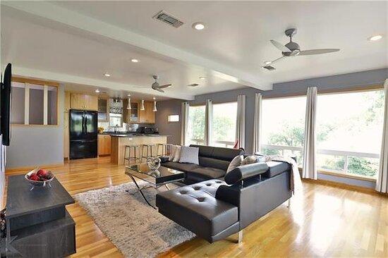 The Loft Suite Living Room & Kitchen