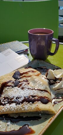 crepes on the deck