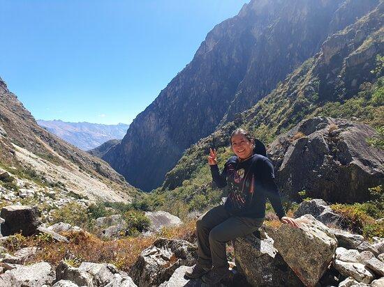 1er dia de Trekking de Santa Cruz