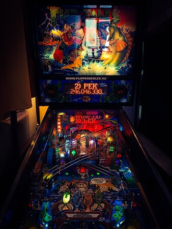 Pinball in the house