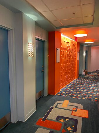 Hallway in Beachside Tower, Floor 11