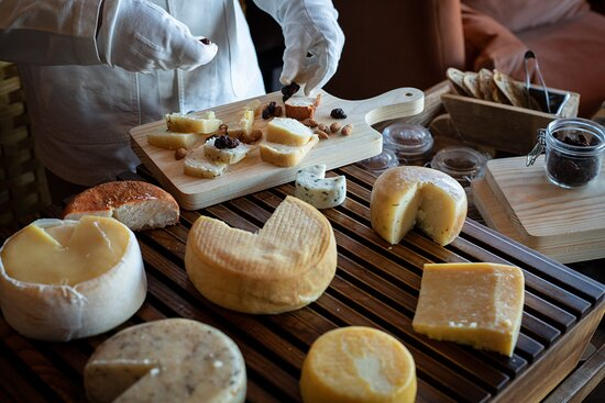 Serviço de queijos