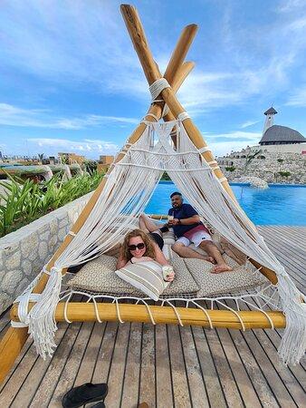 Our favorite rooftop pool in Casa Piramide.