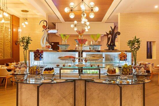 Millennium Resort Salalah Taybat Restaurant Buffet Display