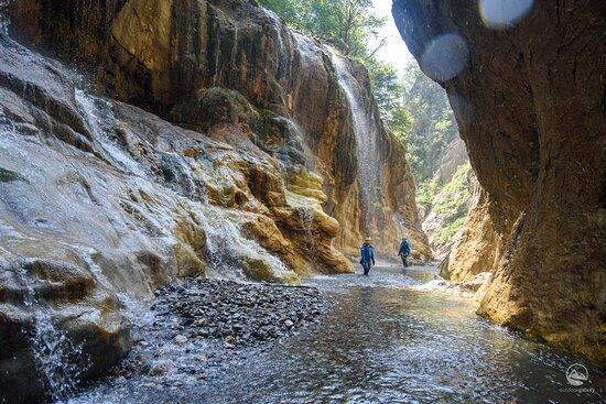 Lumiei canyon