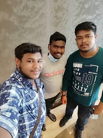 My friends also enjoy our staying