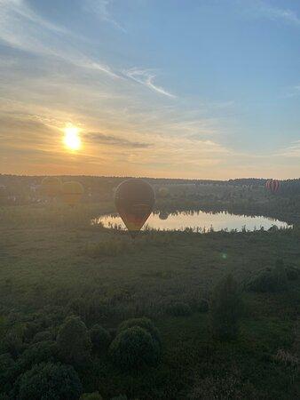 Dmitrov, روسيا: Полёт на воздушном шаре в Дмитрове. Незабываемое впечатление.