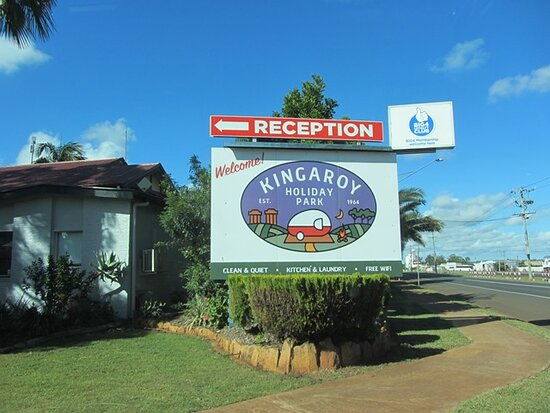 Signage from street