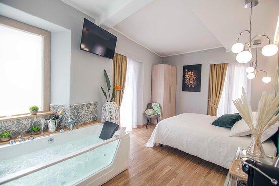 suite jungle con Vasca Idrmassaggio