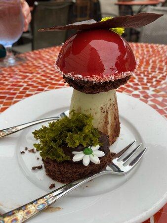 The Boletus Mushroom dessert