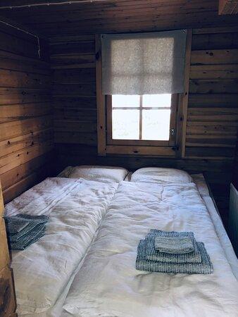 Schlafnische Blockhütte M2 (1-4 pers.)