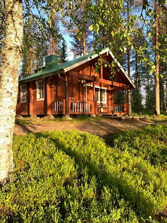 Blockhütte am See