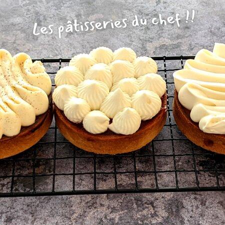 Les pâtisseries du Chef Xavier !!!