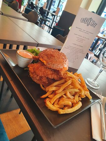 Chicken Tenders burger 🍔🍔