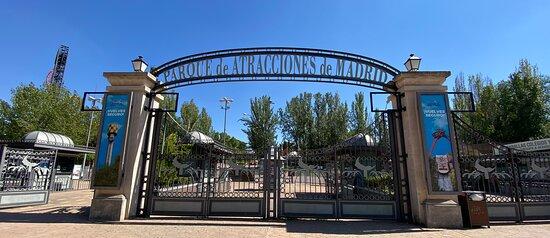 Entrada parque