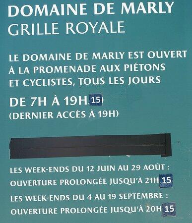 Domaine National de Marly-le-roi, Louveciennes