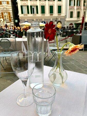 The best restaurant we experienced in Genoa