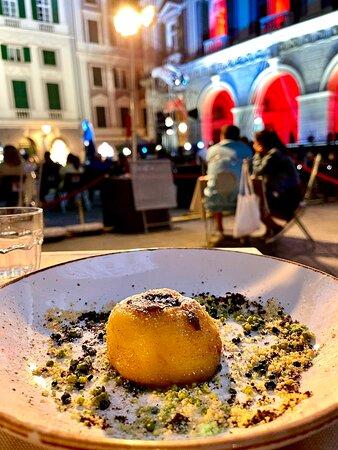 Fabulous dinner in Genoa!