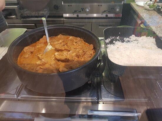 Heute gab's Thai Curry  bei Sevgi im City Inn in Geislingenn