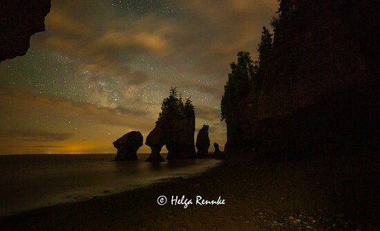 This was the last photo of the excursion. We turned the light off (that we had been using to showcase the rocks better) and as I turned around to head for the stairs, I really felt this would be my favorite shot of the night! Just at peace with nature!
