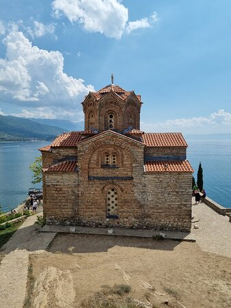 Day tour of Ohrid from Tirana: Church of Saint John the Theologian, Ohrid, Macedonia 