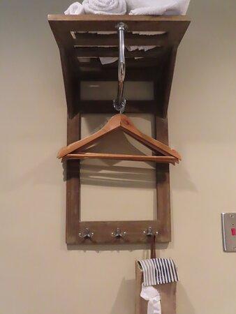 The 'wardrobe' in Nijinsky room