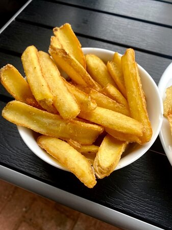 Delicious, perfectly cooked chips
