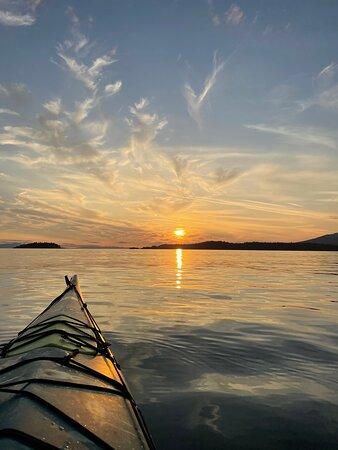 Isla de Bowen, Canadá: Bowen Island Sea Kayak sunset tour