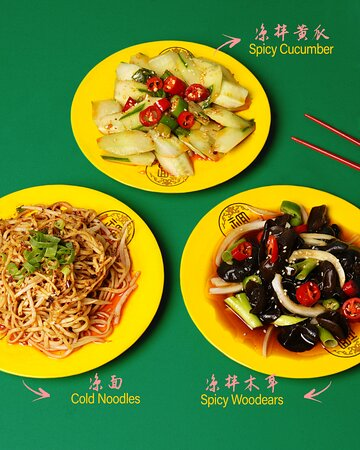 Sichuan vegetable dishes