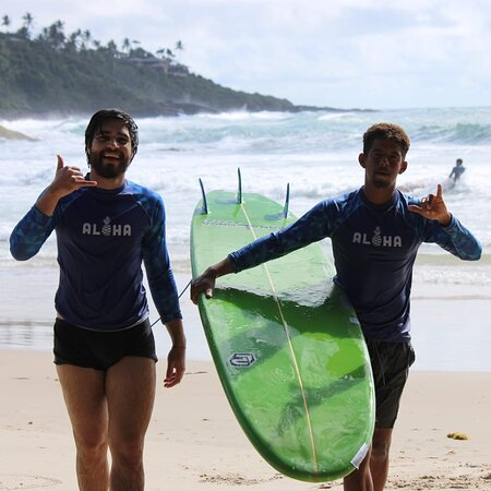 Aulas de Surf (Aloha Surf School)
