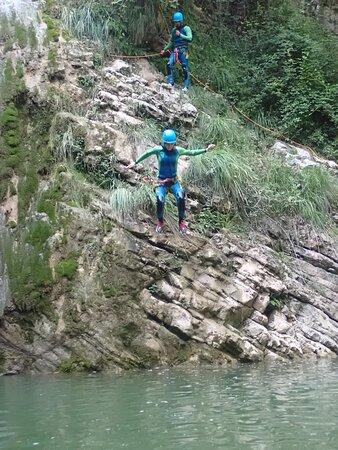 8metres jump
