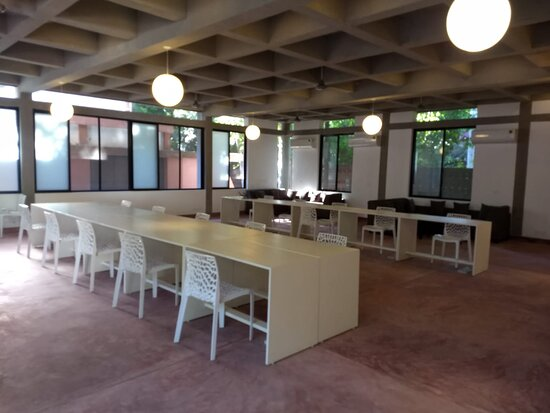 Auroville, India: The Hall