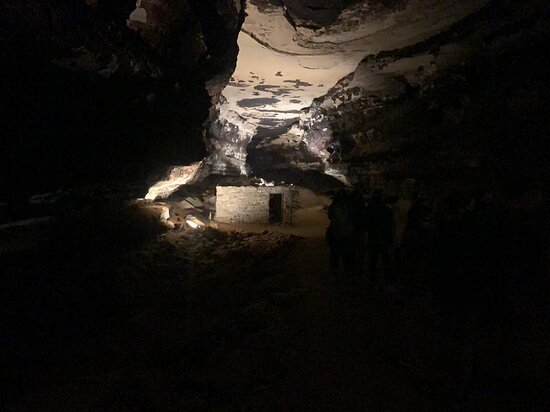 A Tuberculous shelter in the cave from 1800s