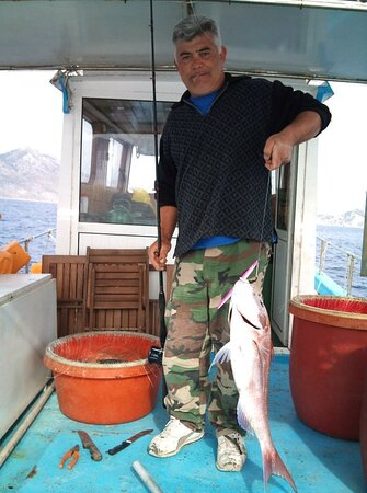 When fishing going good