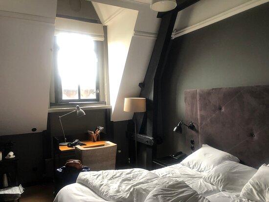 Zolderkamers heten ook Comfortkamers…..