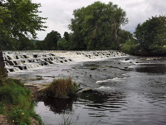 Burley Weir And Stepping Stones